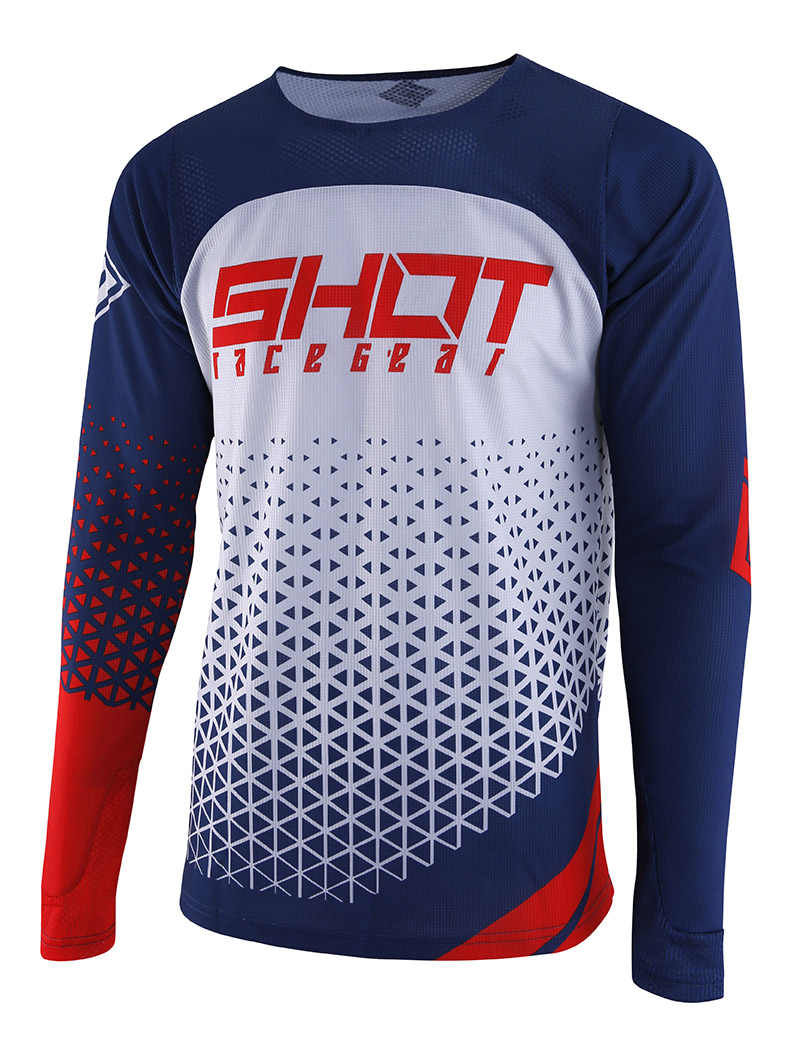 SHOT RACE GEAR 2019 AEROLITE DELTA DRES BLUE/RED