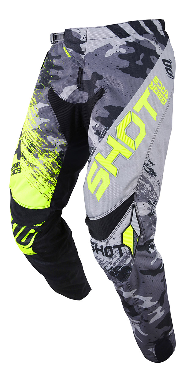 SHOT RACE GEAR 2019 CONTACT COUNTER  KALHOTY GREY/NEON YELLOW