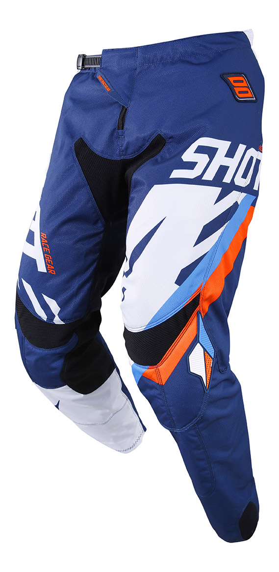 SHOT RACE GEAR 2019 CONTACT SCORE  KALHOTY BLUE/NEON ORANGE
