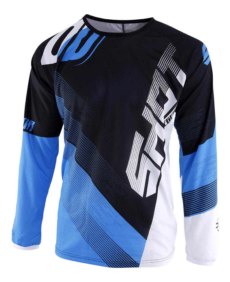 SHOT RACE GEAR 2019 DEVO ULTIMATE DRES BLACK/CYAN