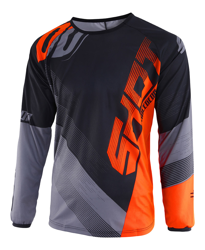 SHOT RACE GEAR 2019 DEVO ULTIMATE DRES BLACK/NEON ORANGE