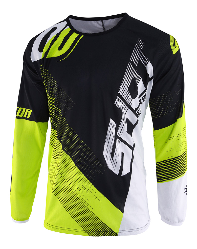 SHOT RACE GEAR 2019 DEVO ULTIMATE DRES BLACK/NEON YELLOW