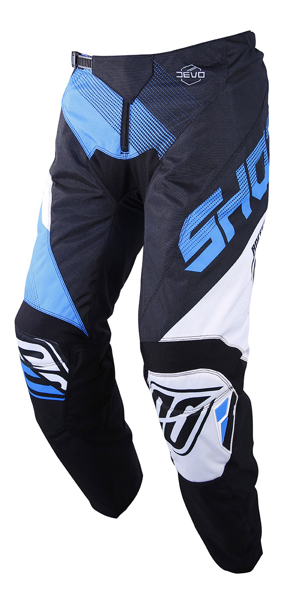 SHOT RACE GEAR 2019 DEVO ULTIMATE KALHOTY BLACK/CYAN