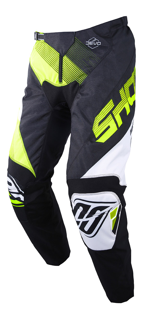 SHOT RACE GEAR 2019 DEVO ULTIMATE KALHOTY BLACK/NEON YELLOW