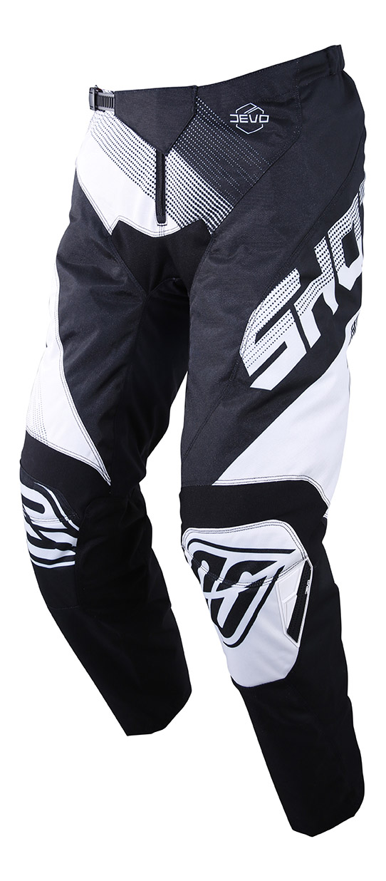 SHOT RACE GEAR 2019 DEVO ULTIMATE KALHOTY BLACK/WHITE
